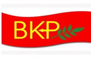 """BKP """"vatandaşlık verilmesi protesto eylemine""""..."""
