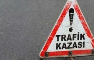Cengizköy'de korkutan kaza: 2 yaralı