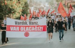 CTP İlk Eylemini Lefke'de Yaptı