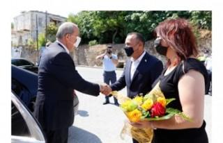 Cumhurbaşkanı Ersin Tatar, Lapta Belediyesi'ni...