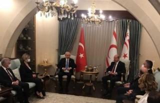 Cumhurbaşkanı Tatar, Kılıçdaroğlu'nu Kabul...
