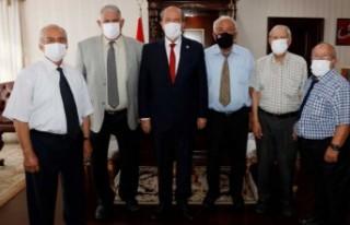 Cumhurbaşkanı Tatar Sönmezliler Ocağı'nı Kabul...