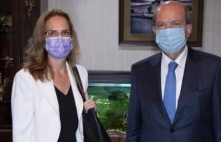 CumhurbaşkanıTatar, Fransa Büyükelçisi Salina...