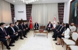 Erhürman, Kemal Kılıçdaroğlu ile görüştü