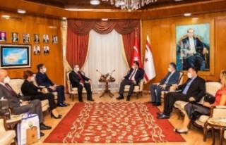 Ersan Saner, Trakya Üniversitesi Rektörü Erhan...