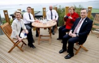 G7 Liderler Zirvesi'nde 'koronavirüs'...