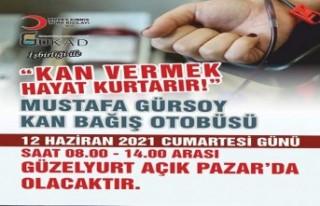 Gükad Ve Kuzey Kıbrıs Türk Kızılayı Kan Bağışı...