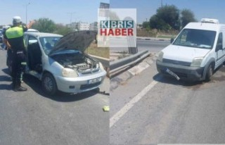 Haspolat'ta Trafik Kazası
