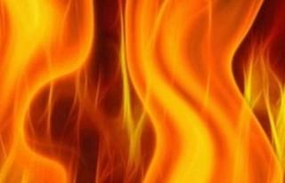 İskele bölgesinde yangın!