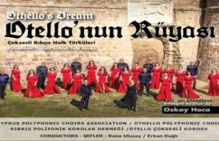 """Kıbrıs Polifonik Korolar Derneği """"Otello'nun..."""
