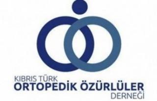 Kıbrıs Türk Ortopedik Özürlüler Derneği'nden...