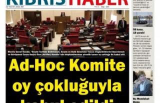 KKTC GAZETE MANŞETLERİ