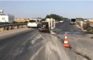 Korkuteli - Mutluyaka arasında trafik kazası!