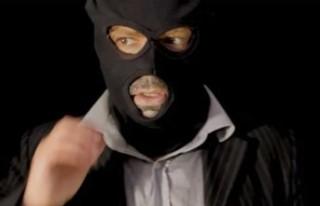 Maskeli soygun!