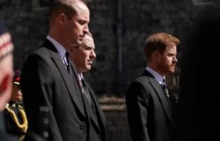 Prens William ve Prens Harry cenazede tartışmışlar