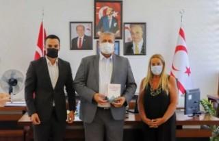 Rauf Raif Denktaş Vakfı Gazimağusa Belediye Başkanı...