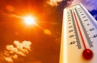 Sıcaklık Artıyor… 39 Dereceye Kadar Çıkması...