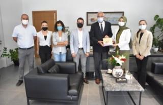 Türkiye'den Gelen Heyet Girne Belediyesi'ni Ziyaret...