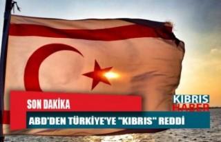 """ABD'den Türkiye'ye """"Kıbrıs""""..."""