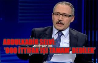 Abdulkadir Selvi, Kıbrıs'ta yaşanan o olayı...