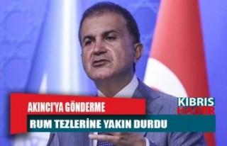 Akıncı'nın külliye tepkisine AKP'den...