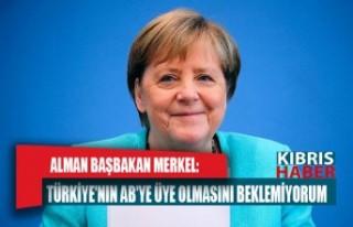 Alman Başbakan Merkel: Türkiye'nin AB'ye...