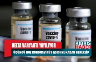 Bazı ülkelerde üçüncü doz aşı vurulmaya başlandı...