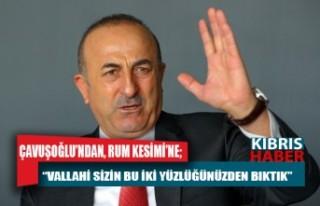 Çavuşoğlu, Kapalı Maraş konusunda en çok Rum...