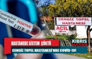 Cengiz Topel Hastanesi'nde COVID 19!