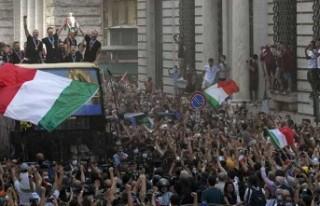 EURO 2020 şampiyonluk kutlamalarının ardından...