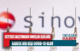 KKTC'de sinovac aşısı yaptıran 609 sağlık...
