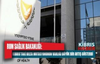 Rum Sağlık Bakanlığı: Kıbrıs'taki delta mutasyonunun...