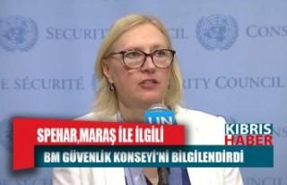 Spehar, Maraş ile ilgili BM Güvenlik Konseyi'ni...