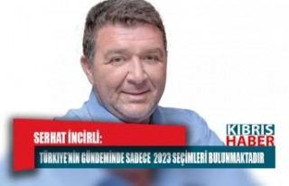 Türkiye'nin gündeminde sadece 2023 seçimleri...