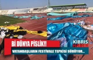 """Vatandaş tepkisi: """"Spor ve kültür festivalimiş.."""""""