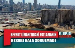 Beyrut Limanı'ndaki patlamanın hesabı hala...