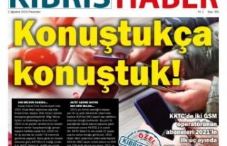 KKTC Gazete Manşetleri / 02 Ağustos 2021