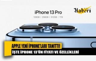 Apple yeni iPhone'ları tanıttı!