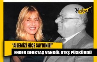 Denktaş'ın kızı, bakanlar kurulu kararlarına...