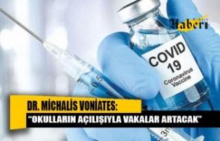 Dr. Voniates: Üç haneli vaka sayıları devam edecek