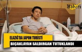 Elazığ'da Japon turisti bıçaklayan saldırgan...