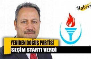Enver Öztürk, YDP olarak pazartesi itibari ile seçim...