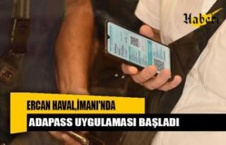 Ercan Havalimanı'nda Adapass Uygulaması Başladı
