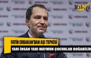 Fatih Erbakan'dan aşı tepkisi: Yarı insan...