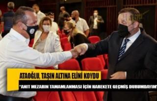 Fikri Ataoğlu, Denktaş'ın anıt mezarı için...