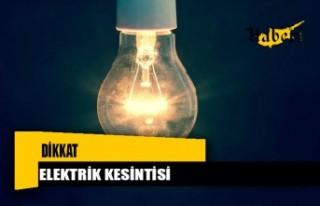 Girne'de Yarın 5 Saatlik Elektrik Kesintisi