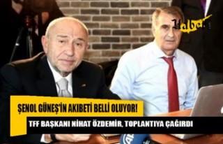 Güneş, yarın TFF Başkanı Nihat Özdemir'le...