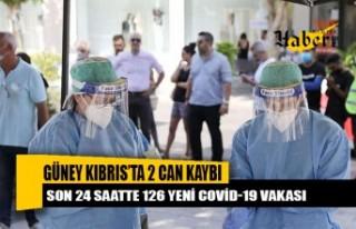 Güney Kıbrıs'ta 126 yeni Covid-19 vakası, 2...