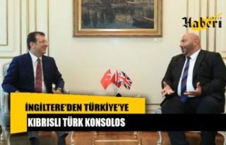 İngiltere'den Türkiye'ye Kıbrıslı Türk Konsolos