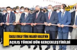 İskele Evkaf Türk Maarif Koleji Eğitime Kazandırıldı